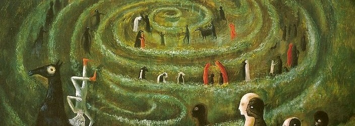 Leonora Carrington - Labyrinth (1991)